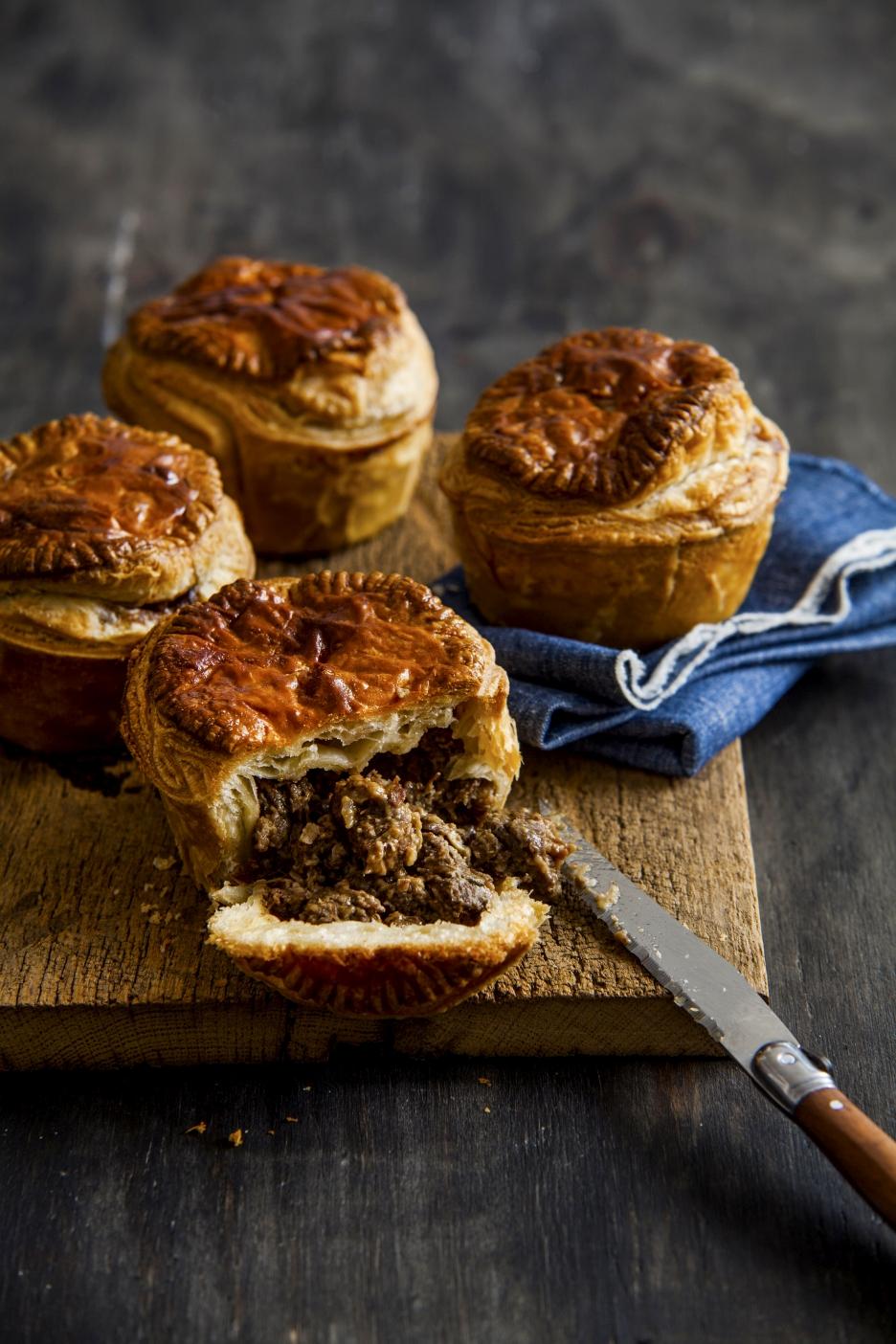 Mini pies hartig bakboek | KeukenAtelier