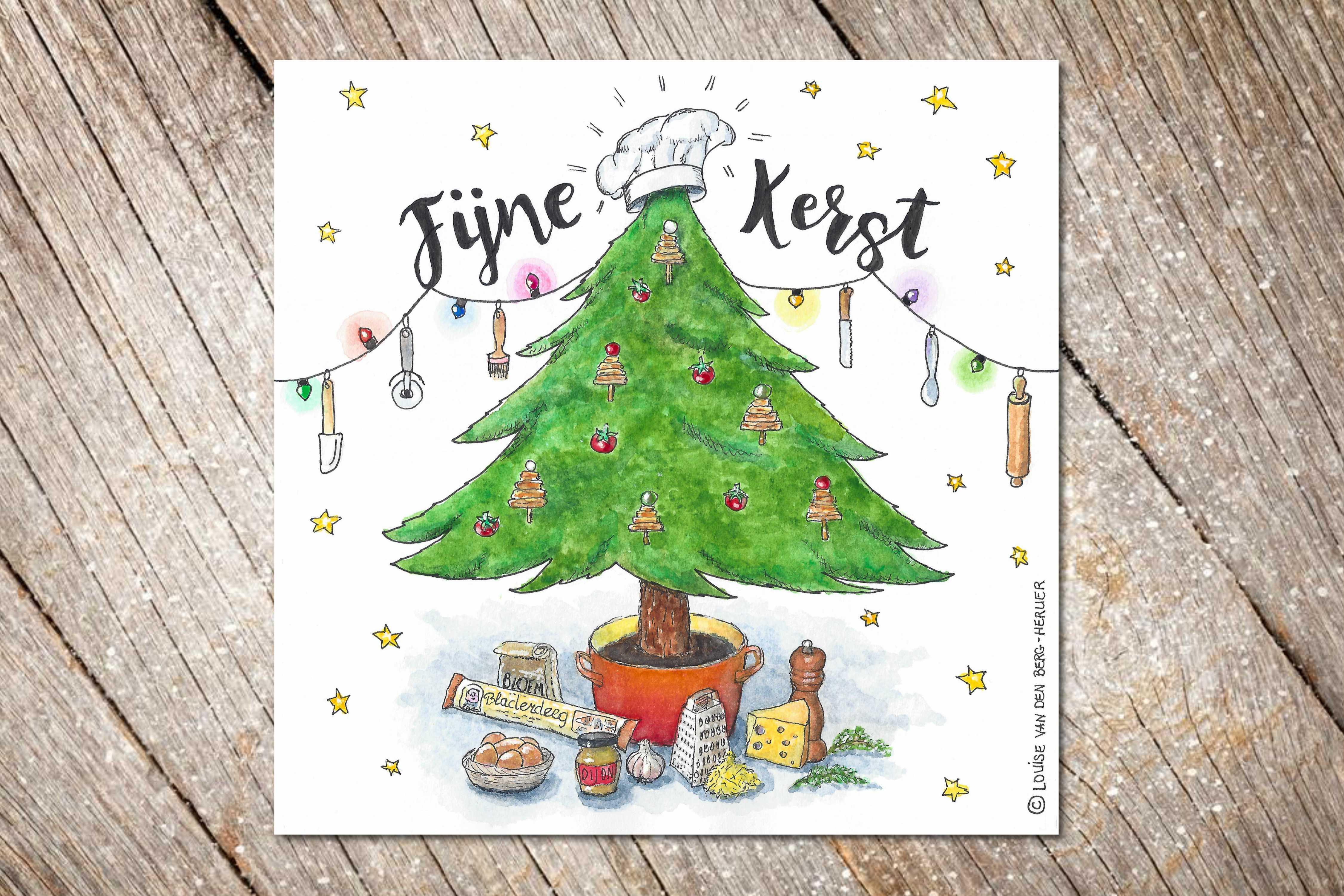Illustratie KeukenAtelier Kerst 2017