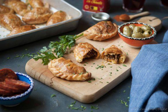 empanadas met gehakt 2 | KeukenAtelier.com