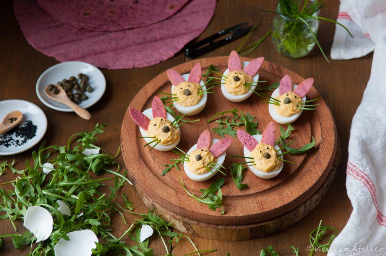 gevulde paashaas eieren | KeukenAtelier.com