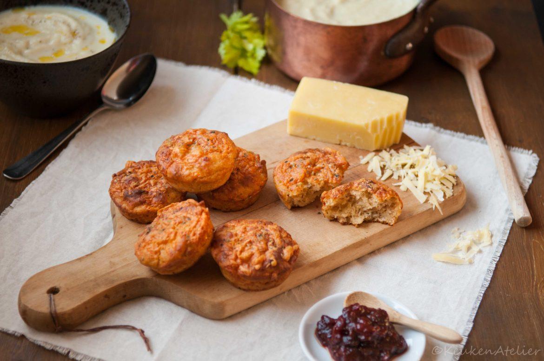 Kaas muffins - KeukenAtelier.com