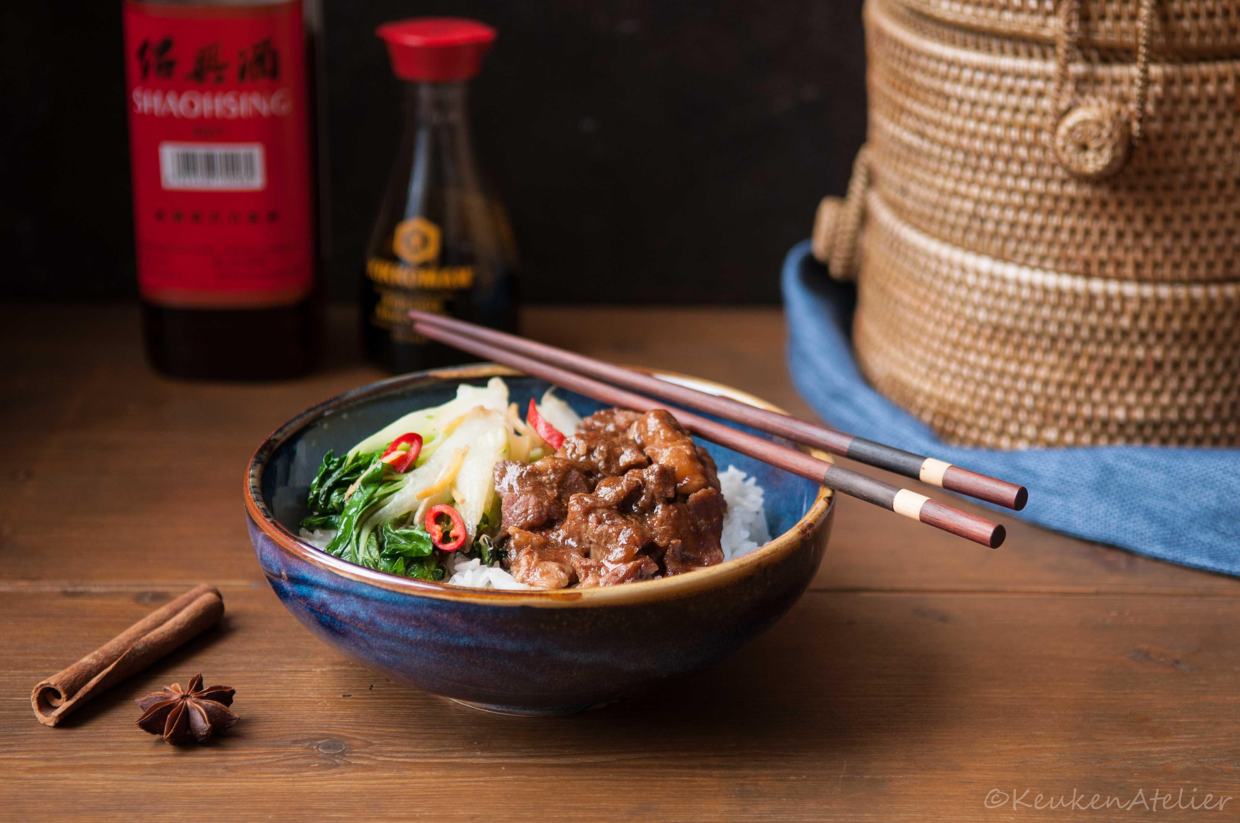 Aziatisch stoofvlees met kaneel en steranijs 1 KeukenAtelier.com