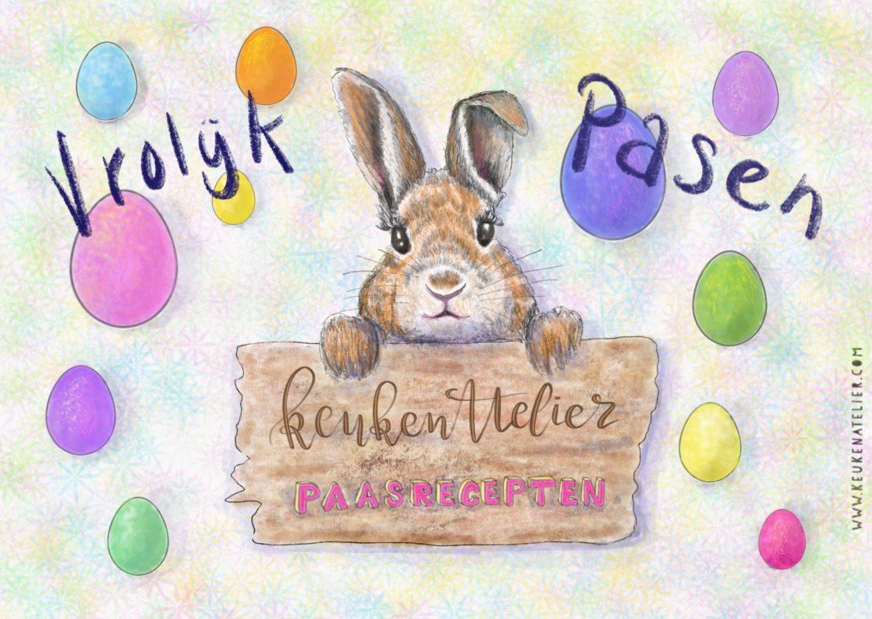 Paas illustratie KeukenAtelier.com