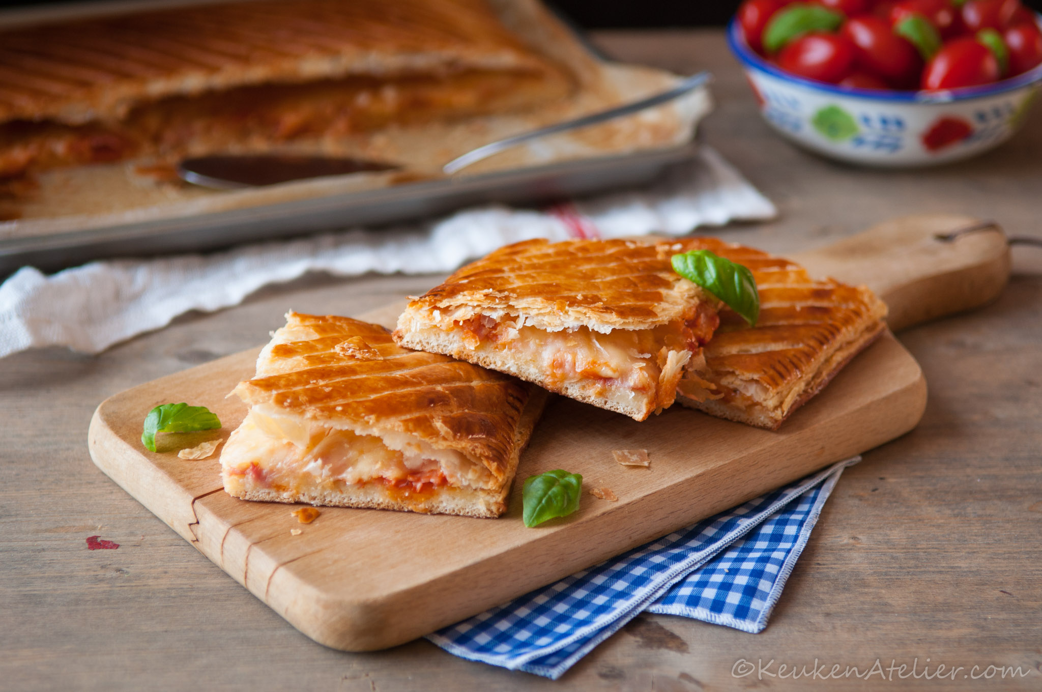 Pizza Parigina - Pizza uit Napels 1 | Keukenatelier.com