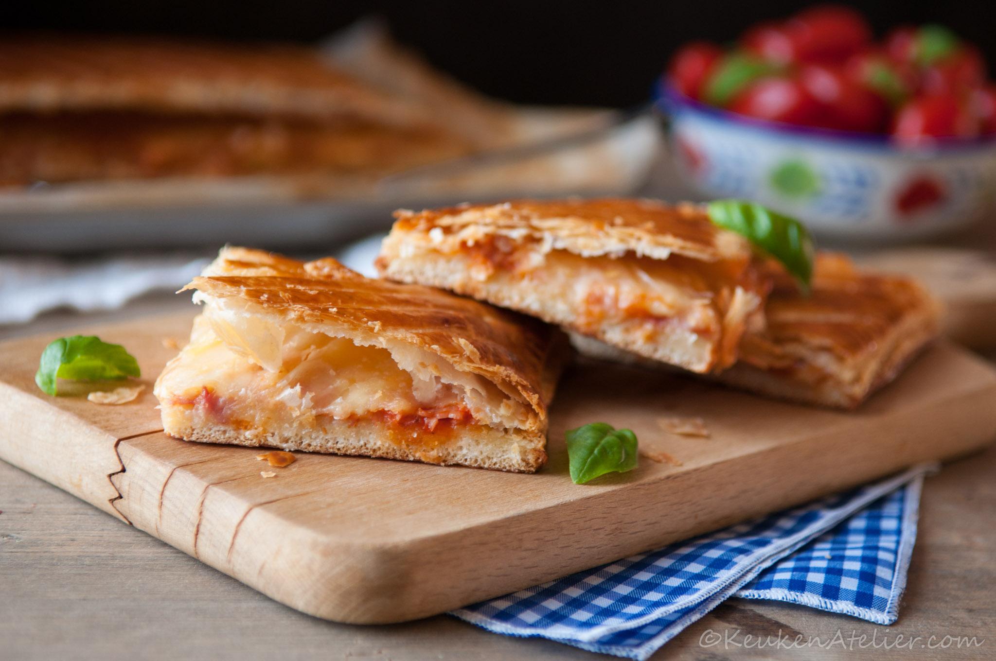 Pizza Parigina 2- Pizza uit Napels | Keukenatelier.com