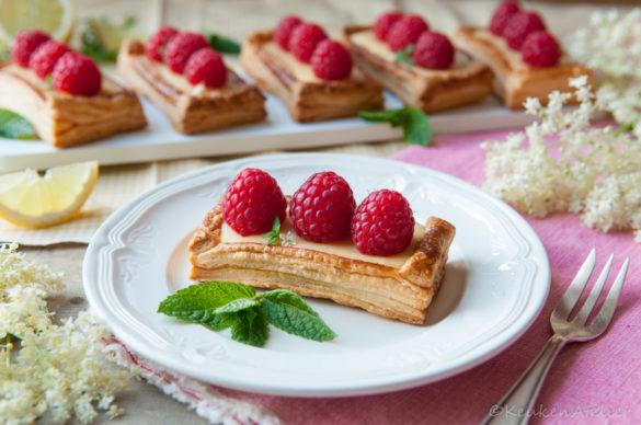 citroen frambozen taartjes 3 | KeukenAtelier.com