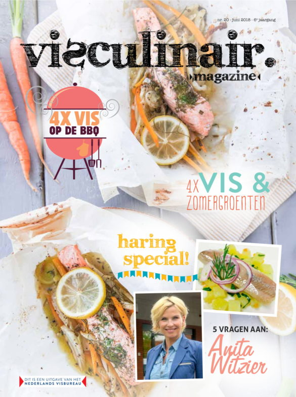 KeukenAtelier in Visculinair Magazine Cover
