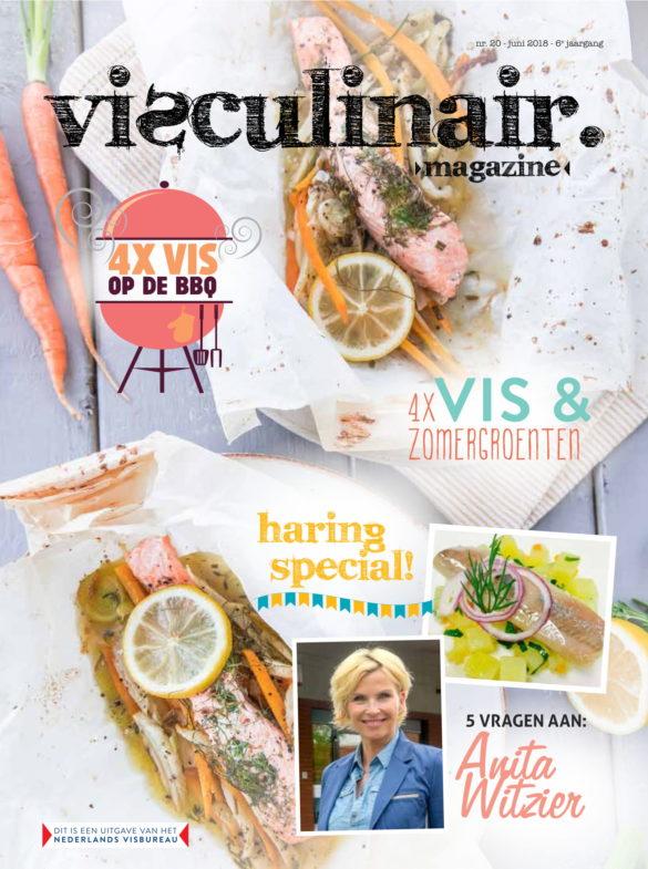 KeukenAtelier in Visculinair Magazine Cover