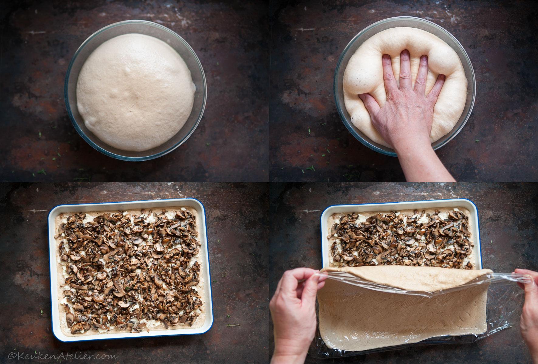 Collage 1 Umami Focaccia - KeukenAtelier.com