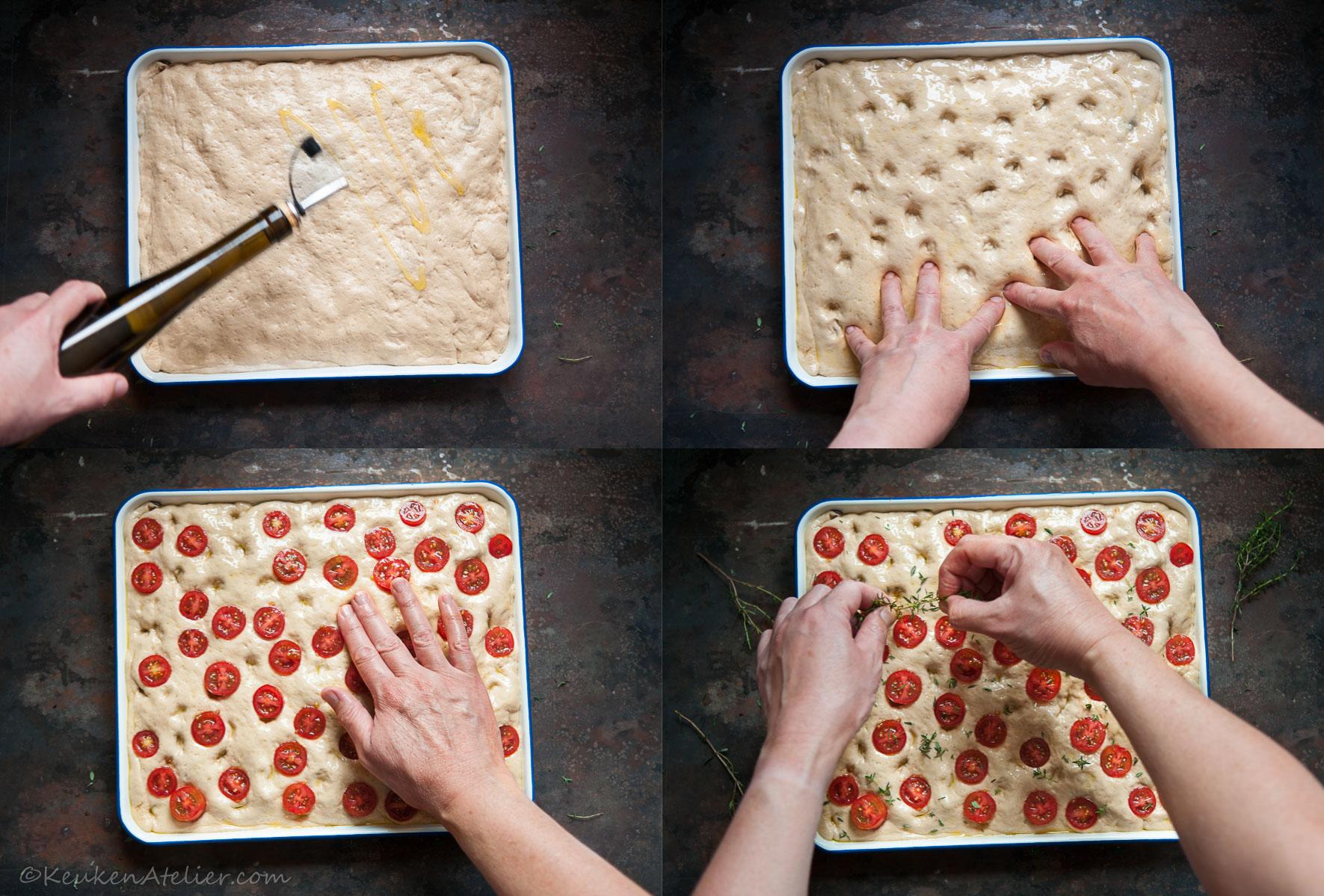 Collage 2 Umami Focaccia - KeukenAtelier.com