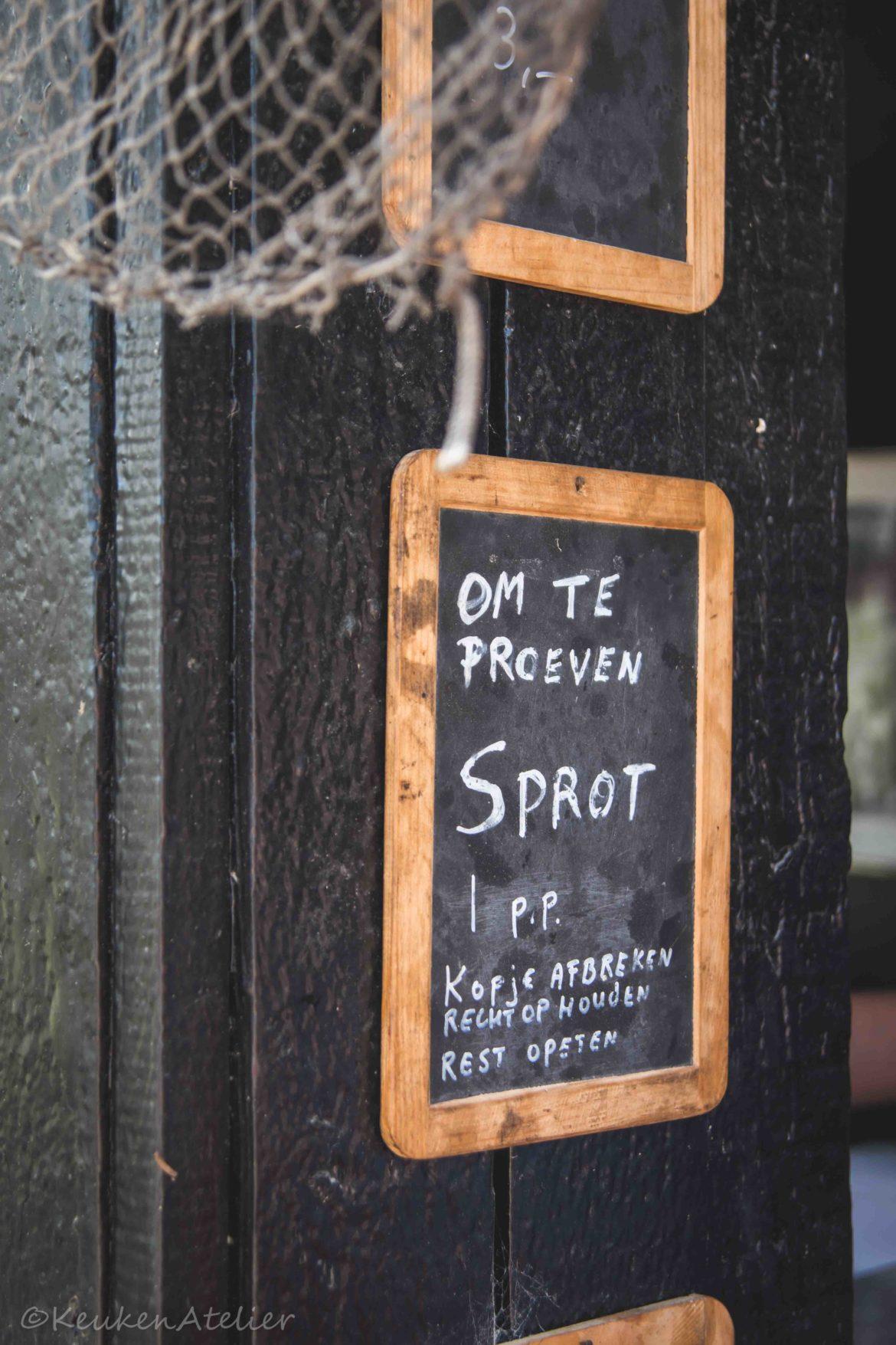 Sprot proeven | KeukenAtelier.com