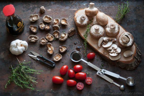 Umami focaccia ingredienten | KeukenAtelier.com