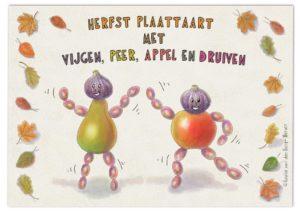 illustratie herfst plaattaart KeukenAtelier.com