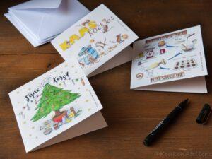 assortiment 3 kaarten KeukenAtelier.com