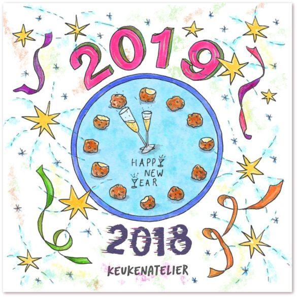Oud & Nieuw 2018 | KeukenAtelier.com