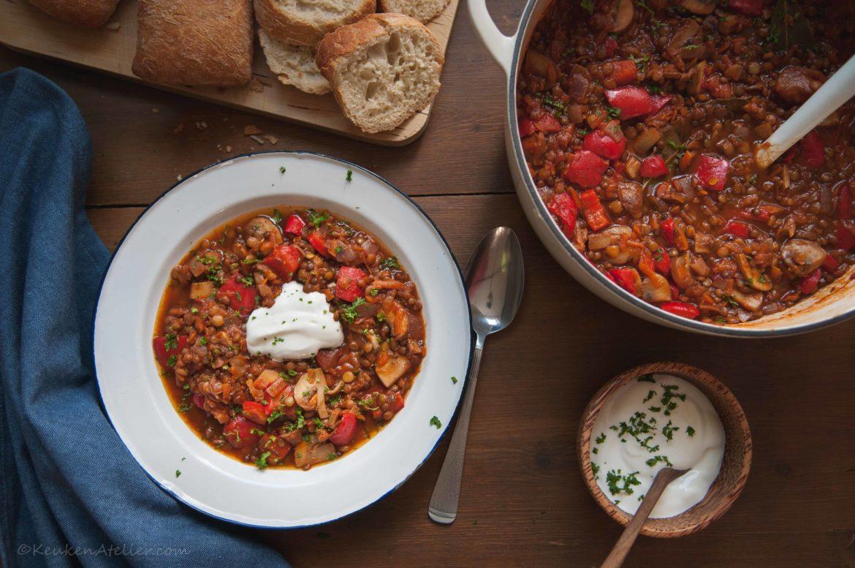 Vegetarische goulash 2 KeukenAtelier.com