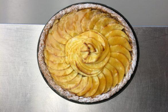 Bakwedstrijd met Marlene appels