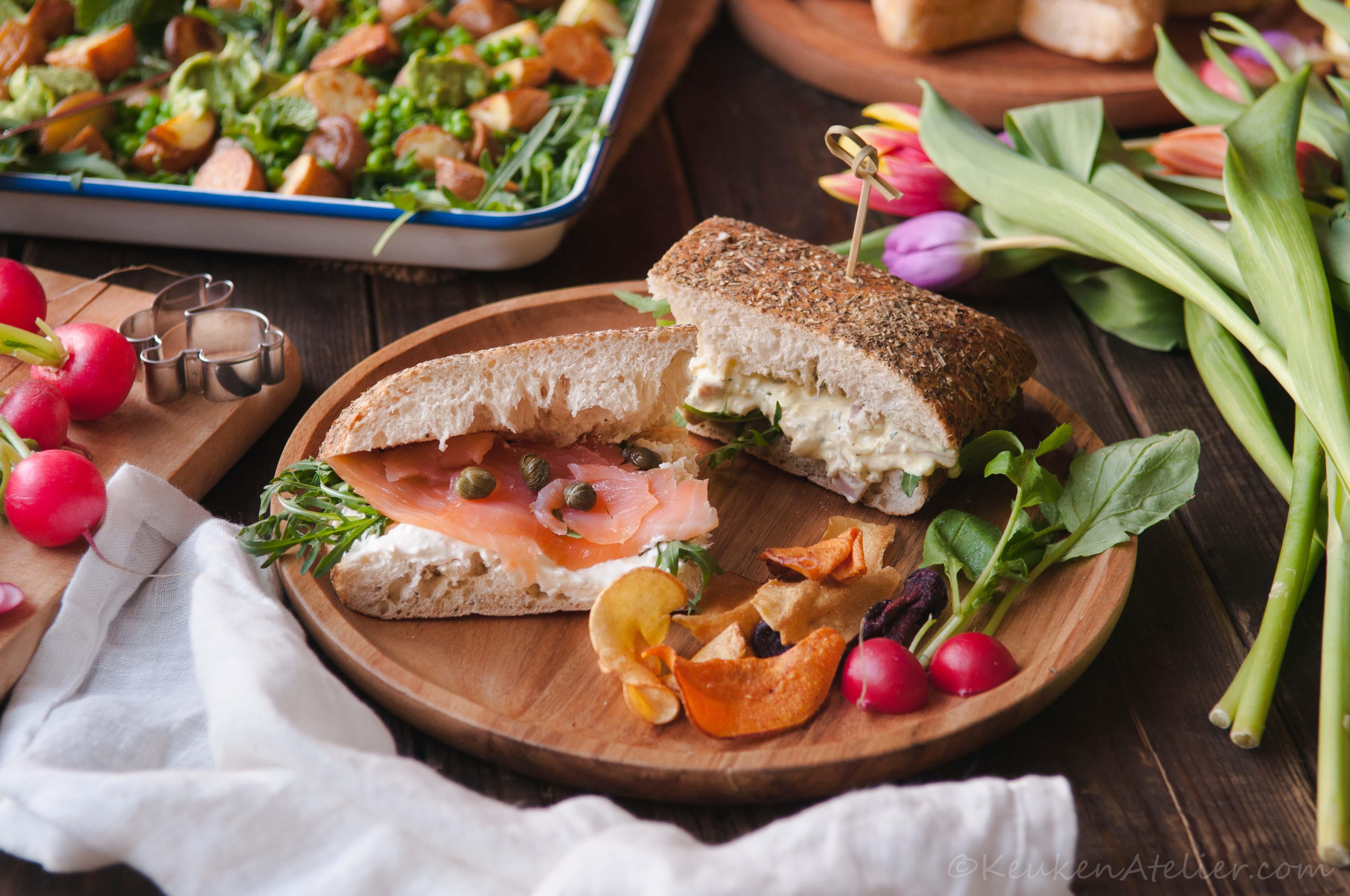 Sandwich Voojaar KeukenAtelier.com