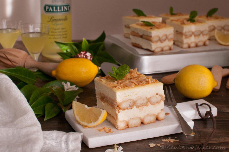 Tiramisu met limoncello en lemoncurd