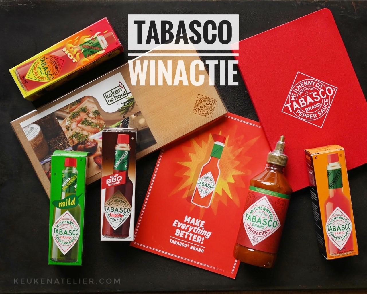 Tabasco winactie