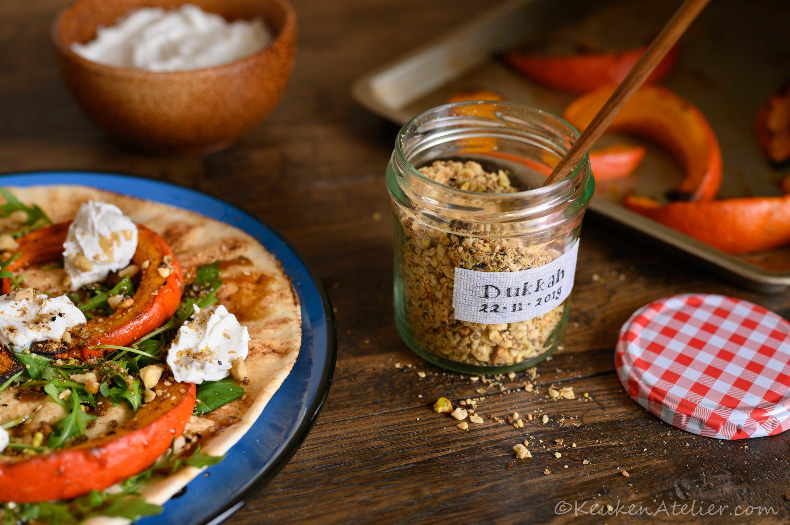 Dukkah, noten- en specerijenmengsel