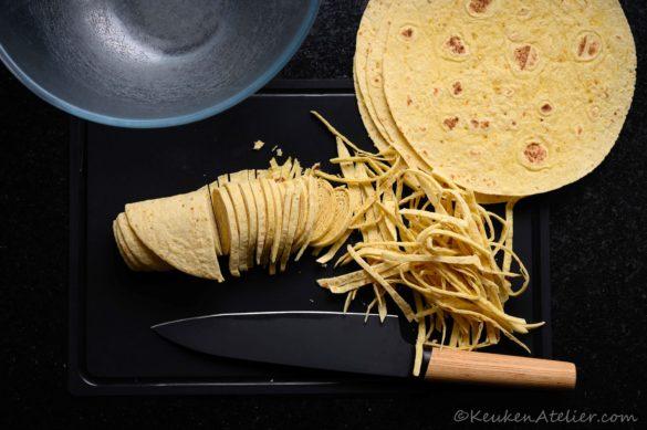 tortilla topping bereiding