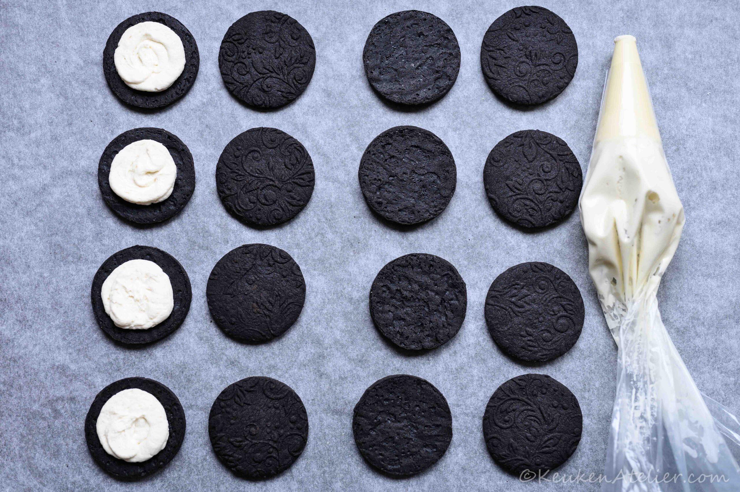 Oreo koekjes vulling